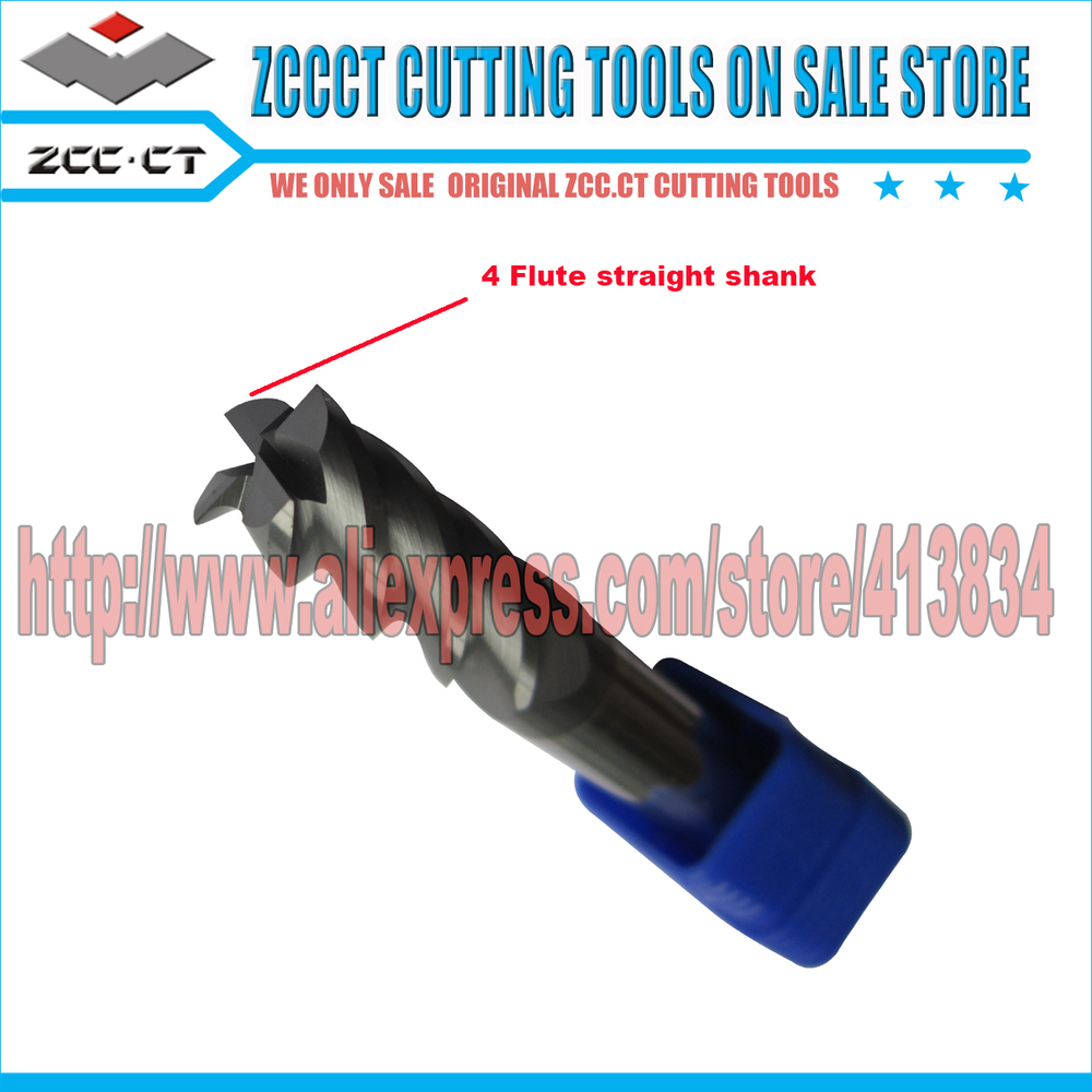 Free Shipping ZCCCT carbide cutting tool end mills 1 pack