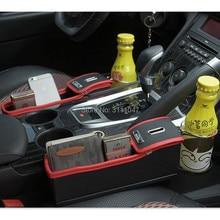 1 шт. стайлинга автомобилей сидений щелевая коробка для хранения держатель Органайзер для zafira b toyota chr honda insight toyota avensis форд фокус mk3