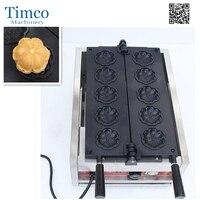 Sakura Waffle Machine Commercial Electric Flower Shaped Waffle Maker Muffin Cake Machine Sakura Yaki Cake Oven