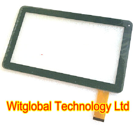 New white 10 1 iGET COOL N10C 40pins Touch Screen Digitizer Touch Panel Tablet Sensor Glass
