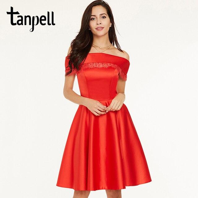 Vestido rojo corto barato