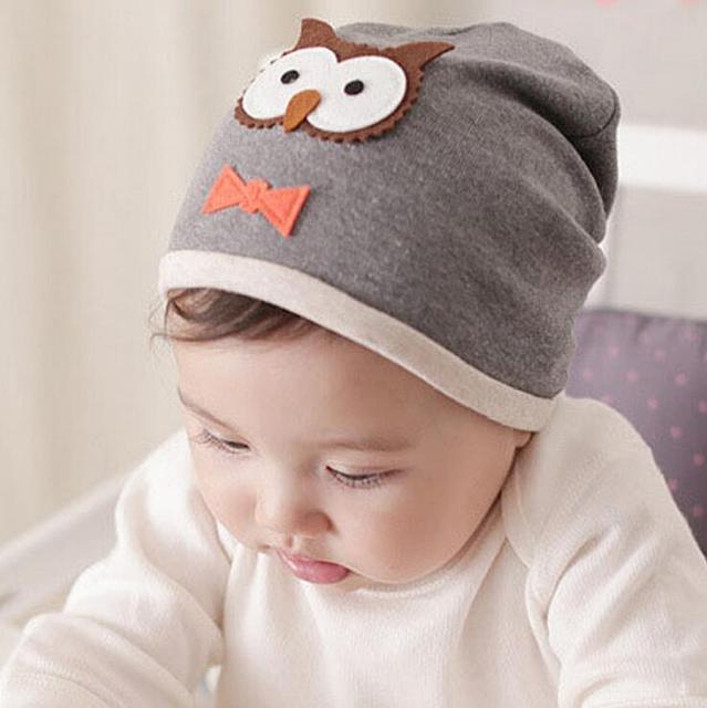 d6735bd1d Cartoon Cute Unisex Autumn Newborn Crochet Baby beanie Hat Girls Boys Cap  Infant Winter Cotton Owl-in Hats & Caps from Mother & Kids on  Aliexpress.com ...