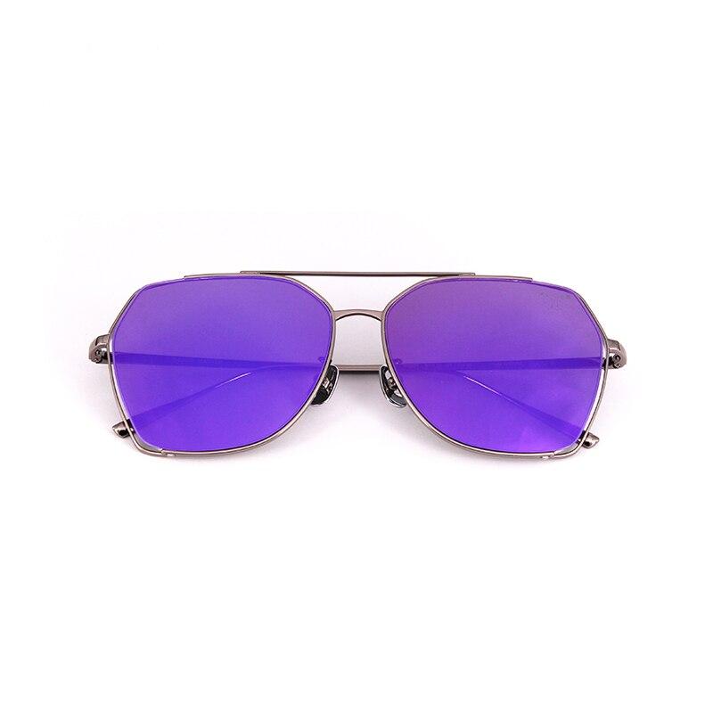 Heißer Verkauf Quadrat Sungalsses Marke Designer Hochwertigem Edelstahl Rahmen Oculos De Sol Feminino Angeln, Outdoor AQ335-340