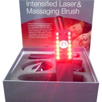 2 In 1 Infrared Laser Lotion electric head massager comb Hair Brushes Comb Kit Massage Hair Loss Regrow Treatment