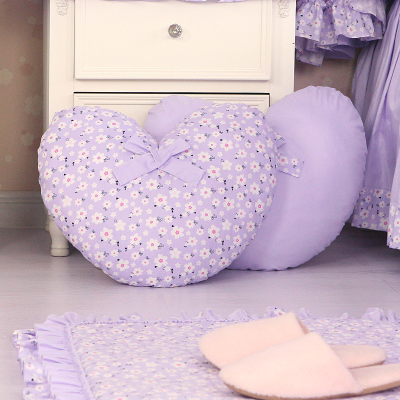 Heart Sofa Cushion Car Seat Cushions Home Decor Luxury Decorative Throw Pillows Decorate For Bed Floor Computer Chair Christmas