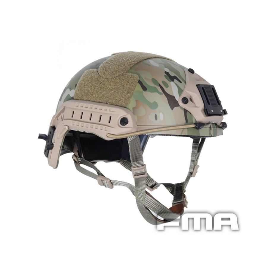 FMA Free Shipping Ballistic FAST Helmet Tactical Helmet Multicam TB460 M L L XL For Airsoft