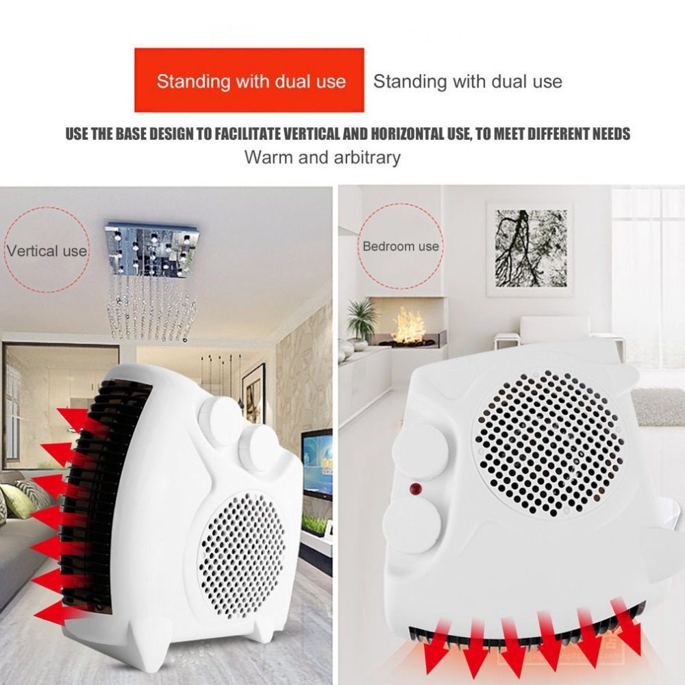 2018 NEW Mini Portable Electric Heater Bathroom Warm Air Blower Fan Home Heater Adjustable Thermostat Drop Shipping2018 NEW Mini Portable Electric Heater Bathroom Warm Air Blower Fan Home Heater Adjustable Thermostat Drop Shipping