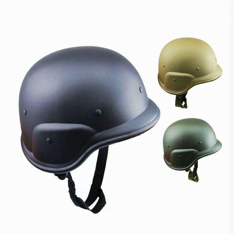 NEW US military M88 ABS Plastic Camouflage Tactics CS Field Army Combat Motos Motorcycle Helmet