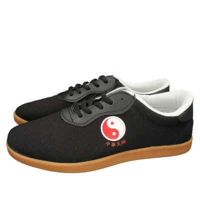 Размер 34-45, таичи, обувь для боевых искусств, тайцзи, обувь для тайчи каратэ, тхэквондо ушу, тренировочные, черные