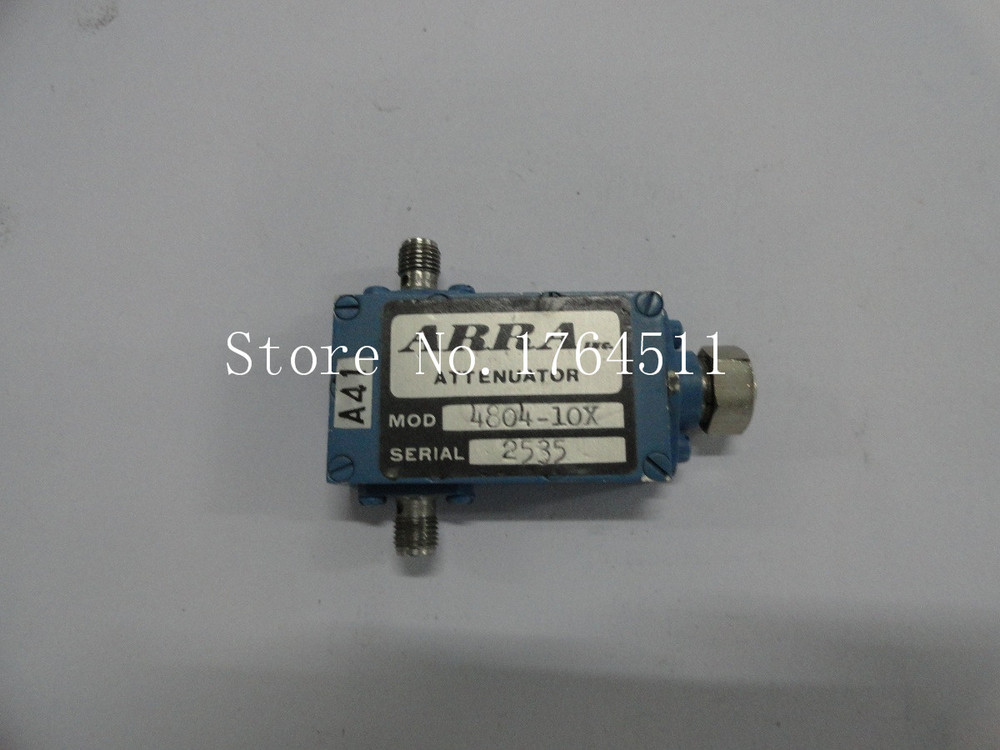 [BELLA] Adjustable Variable Attenuator ARRA 4804-10X 3.6-4.3-4GHz 10dB Extension
