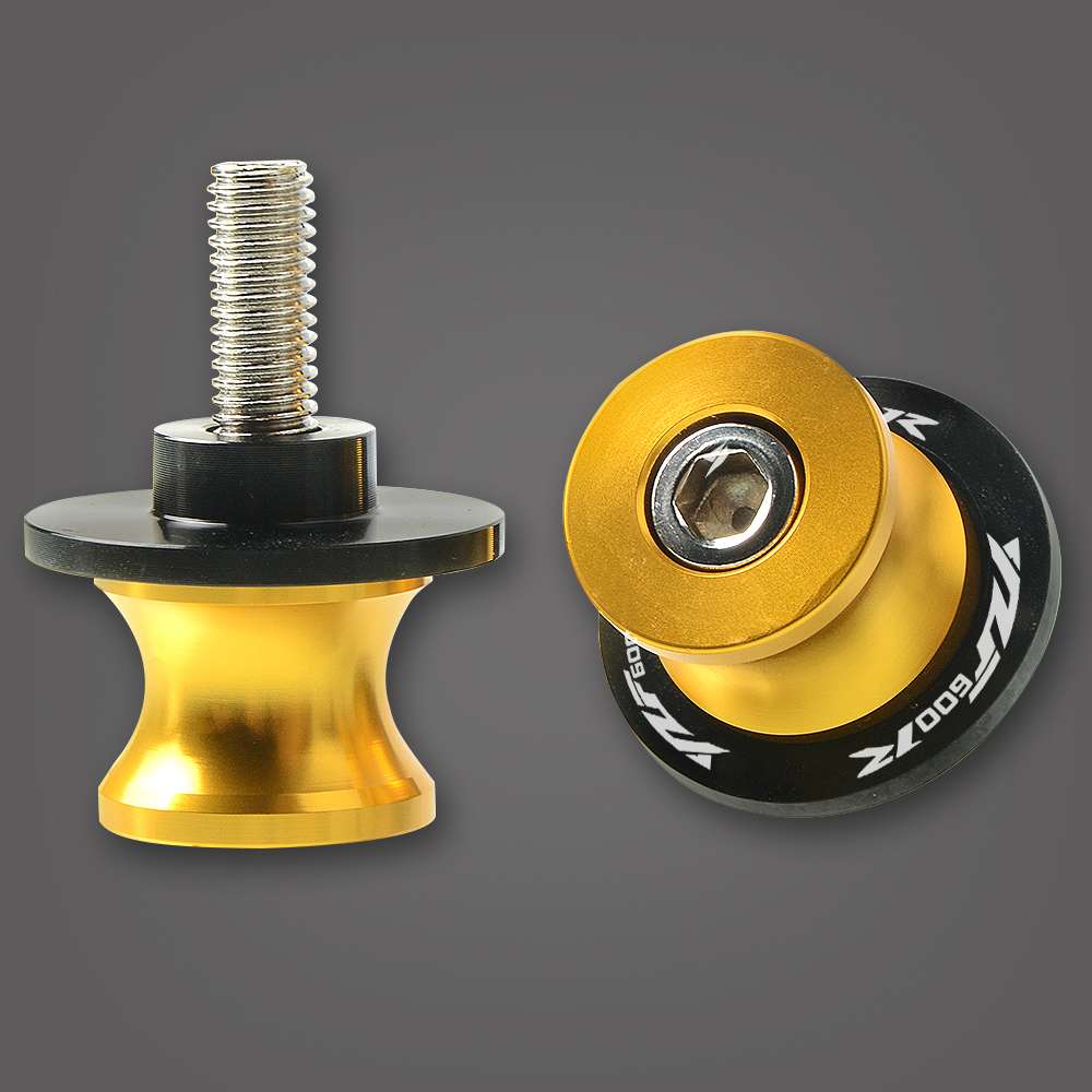 For YAMAHA YZF600R YZF1000 YZF1000R YZFR1 YZFR3 YZFR6S Motorcycle Accessories CNC Swingarm Sliders Spools YZF600R Stand Screws in Covers Ornamental Mouldings from Automobiles Motorcycles