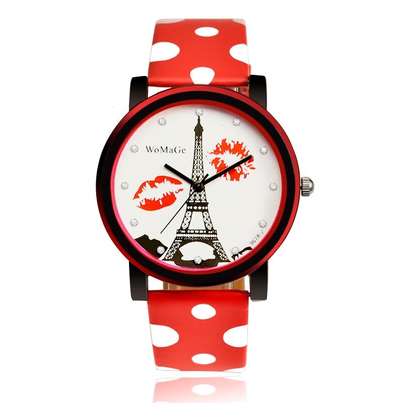 эйфелева башня часы женские купить на алиэкспресс