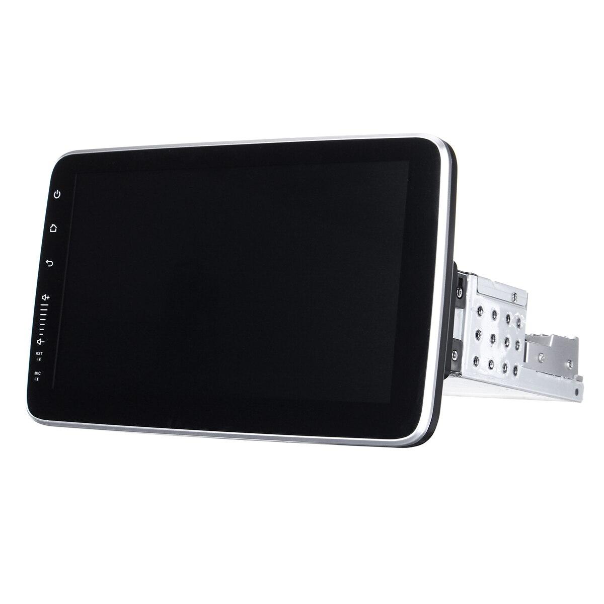 Lecteur multimédia de voiture 10.2 8 Core 1Din stéréo 16/32G pour Android 8.0/8.1 avec écran rotatif de 360 degrés lecteur Radio GPS WiFi - 4