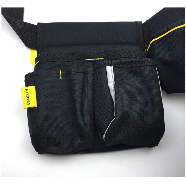Stanley tool bag waist electrician hip storage carpenters belts and bags contractor construction tool belt pouch pocket combo 3
