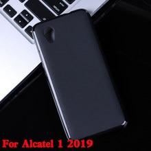 Para Alcatel 1 2019 Silicone Soft Case TPU Telefone Shell 1 Fundas Coque para Alcatel 2019 Tampa Traseira para a Alcatel 1 (2019) 5.0