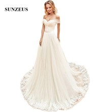Sunzeus Ivory Wedding Dresses 2019 Sweetheart