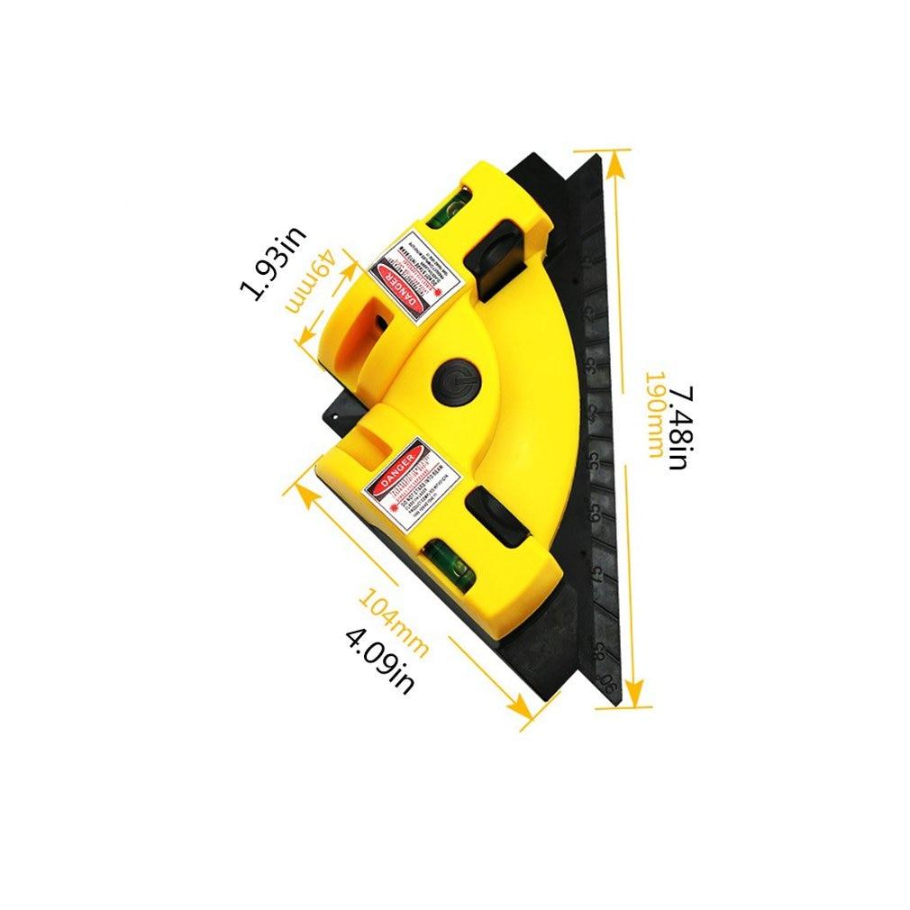 quadrados projeção 635nm 90 graus ferramentas de