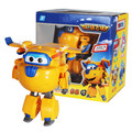 Big!!! Super Wings Donnie Deformation Airplane Robot Action Figures Super Wing Transformation toys for children gift Brinquedos