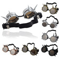 Hot Cool Men Women Welding Goggles Unisex Gothic Steampunk Cosplay Antique Spikes Vintage Victorian Glasses Eyewear Wholesale
