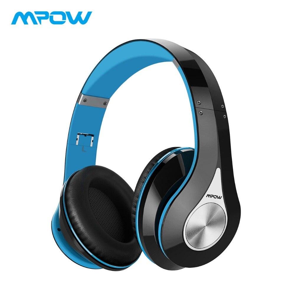 Mpow 059 sur l'oreille sans fil Bluetooth casque HiFi stéréo son casque anti-bruit casque avec micro pour iPhone XS/8/7