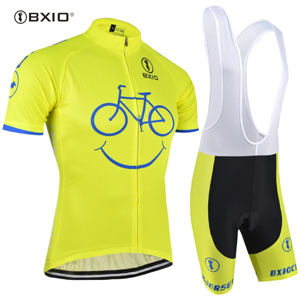 BXIO Cycling Jersey Sets Men Ropa Ciclismo Mujer Pro Mountain Bike Bicicleta Short Sleeve Summer Style Hot Selling Clothing 085 цена