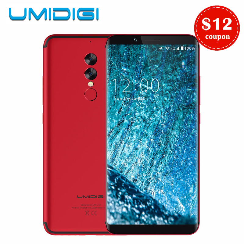 Umidigi S2 Pro 6.0 Full Screen Smartphone 5100mAh P25 6GB RAM 128GB ROM Octa Core 4G LTE Android 7.0 Mobile Phone