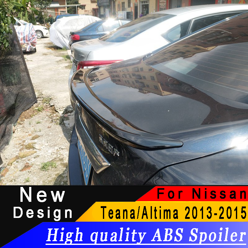 For Nissan Teana/Altima 2013 to 2015 new spoiler High quality ABS spoiler Primer or any color rear spoiler for TeanaFor Nissan Teana/Altima 2013 to 2015 new spoiler High quality ABS spoiler Primer or any color rear spoiler for Teana