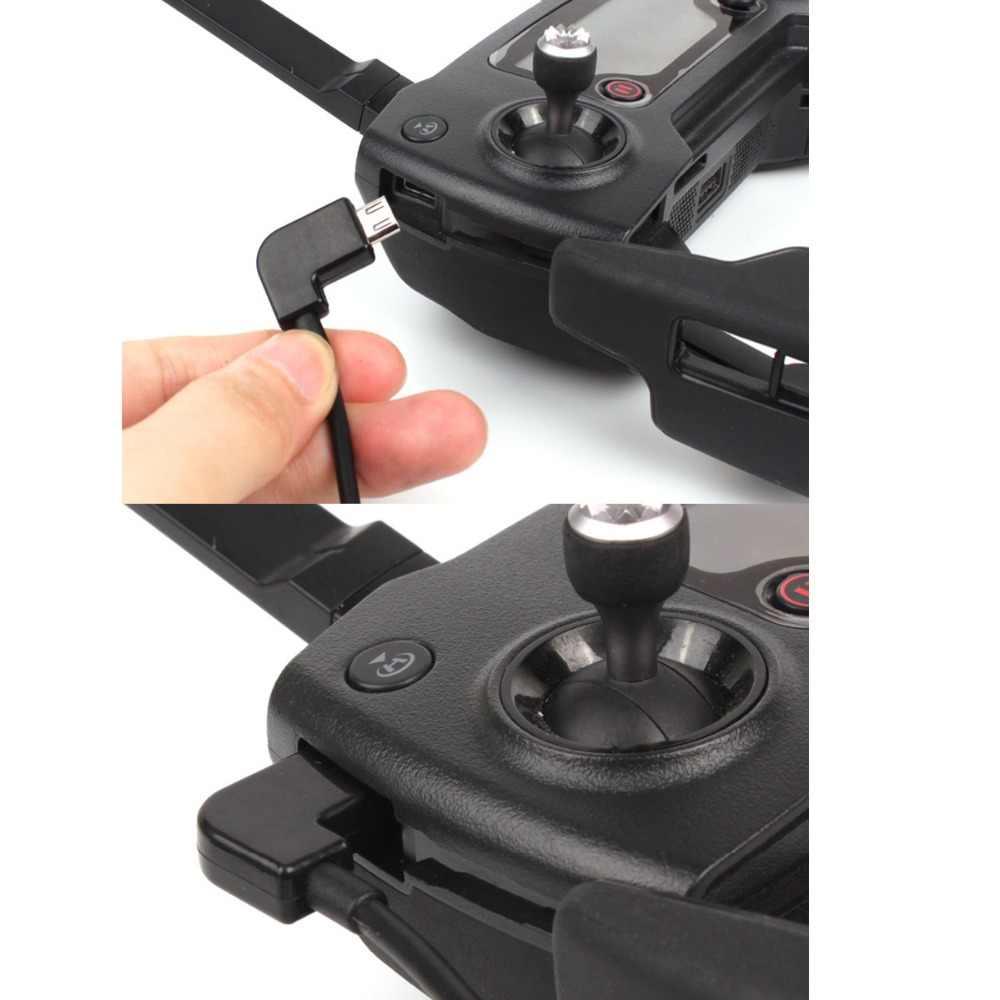 DJI Spark DJI Mavic Pro Air Remote Controller Data Mengubah Kabel USB Port Konversi Energi Line Kawat untuk Smartphone Tablet