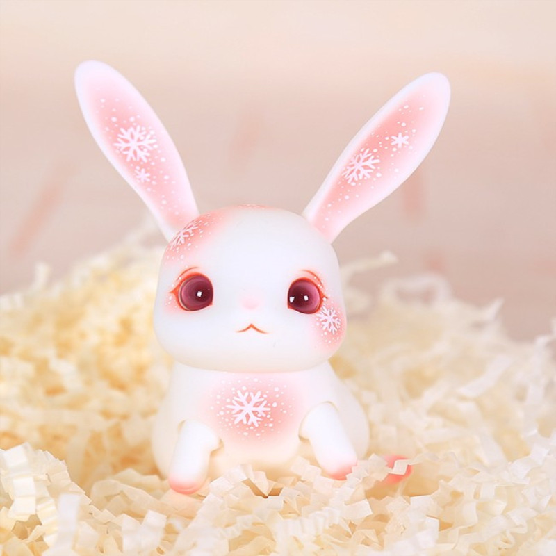BJD Props Bjd Pet Pink Rabbit Lovely  10cm