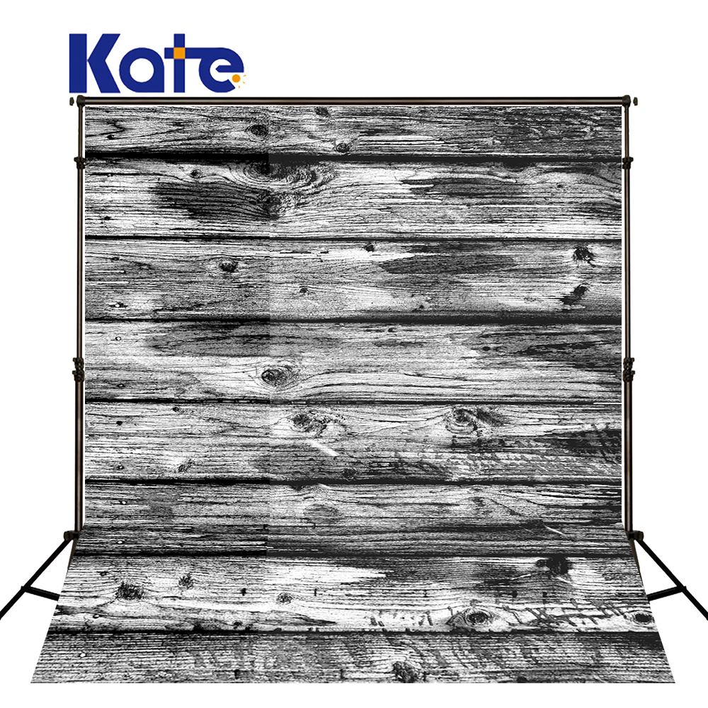 KATE Black Wood Wall Background Vintage Wood Backdrop Backgrounds for Photo Studio Wooden Board Baby Photography Backdrops