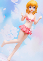 180mm Japanese original anime figure Gochuumon wa Usagi Desu ka Hoto Kokoa swimsuit ver figure collectible model toys for boys