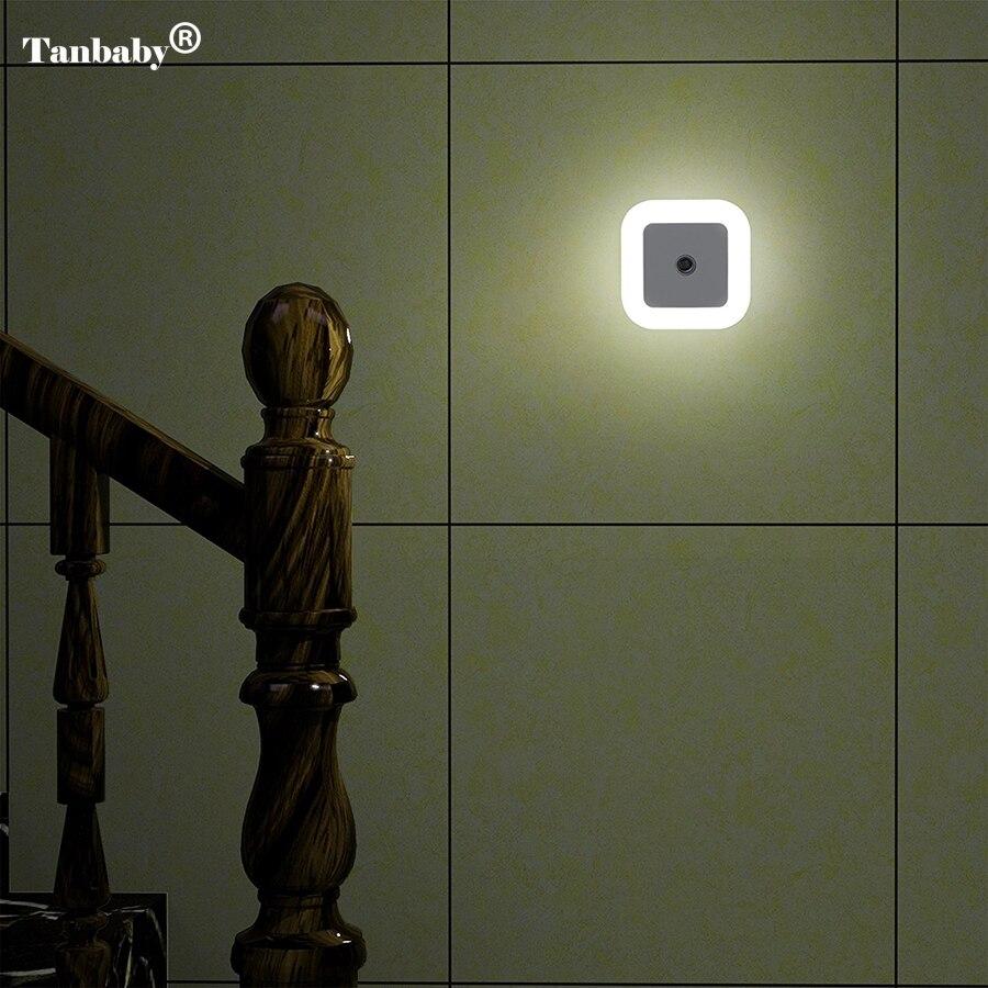 LED Smart Sensor LED Night Light Lamp Induction Sensor Control LED Light 0.5W Automatic Light Lamp
