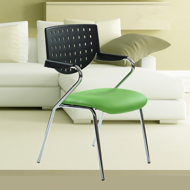 Modern Simple Office Training Chair Staff Conference Meeting Chair With Writing Board Portable Home Student Computer Chair