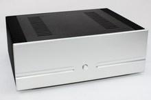 WF1186 Full Aluminum Chassis HIFI Case Amplifier Enclosure DAC Cabinet DIY Box For Audio Amplifier 312*432*150mm