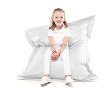 Ywxuege White Bag Chair Cover Bean Bags No Filling,beanbag Sofa Cover Bean Bag Covers One Seat Adult/children-free Shipping