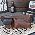Hot 2016 New Arrival Fashion Leather Men Messenger Bags High Quality Casual Small Chest Packs Vintage Brown Shoulder Bags Bolsos