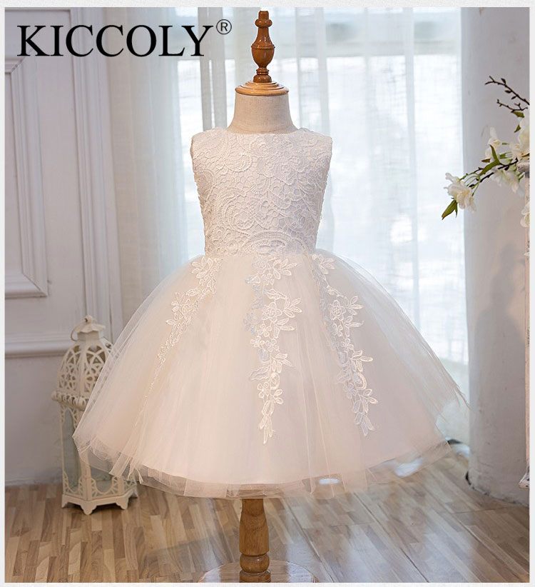 Top Quality Girl Red Wedding Dress First Communion Dresses For Birthday Tulle Lace Infant Toddler Pageant Flower Girl Dresses brandwen formal white dresses for girl tulle lace infant toddler pageant pearls girl dress for wedding and birthday vestidos