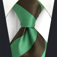 Classic Striped Ties for Men Woven Fashion Mens Necktie