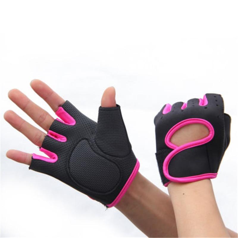 Men Women Cycling Short Gloves Unisex Summer Half Finger Breathable Gloves M-L