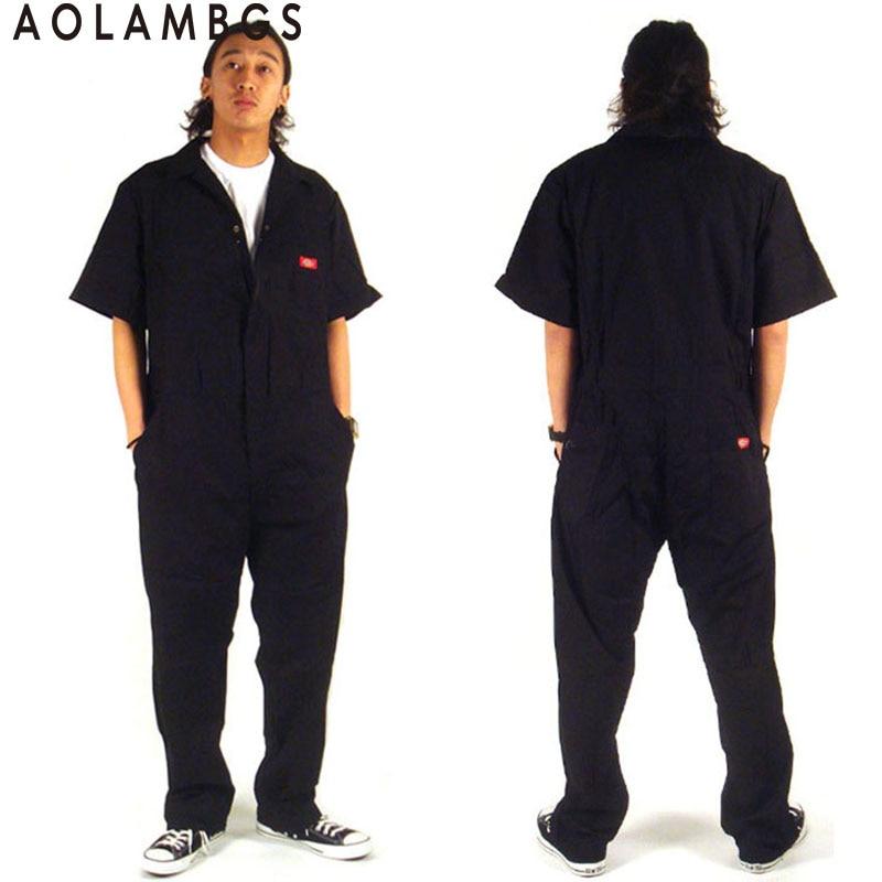 Moški hip hop ples kombinezon hlače plesalke hiphop hlače 2016 poletna moda kratki rokav enodel kombinezon Plus velikost S-XXXL