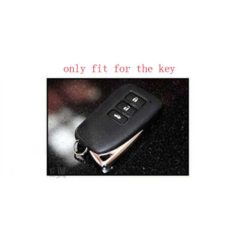 Зад ключа автомобиля чехол силиконовый держатель крышка shell для Lexus NX GS RX ES GX LX RC 250 200 350 300 H 450 H CT200 RX270LX NXIS брелок-контроллер