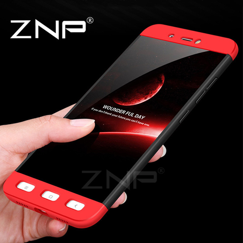ZNP Luxury 360 Degree Protective Case For Xiaomi Redmi 4X Note 4X Case Full Cover Phone Cases For Xiaomi Redmi Note 4X 4 Case