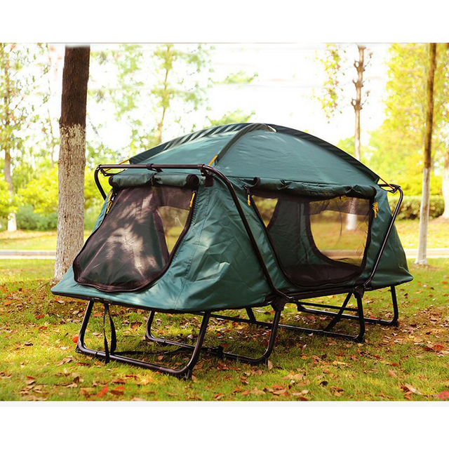 Tourist Tent 1-2 person waterproof C&ing tent folding tent bed Outdoor recreation fishing tents  sc 1 st  AliExpress.com & Tourist Tent 1 2 person waterproof Camping tent folding tent bed ...