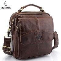 OU BA SHU New Fashion Genuine Leather Man Messenger Bags Cowhide Leather Male Cross Body Bag