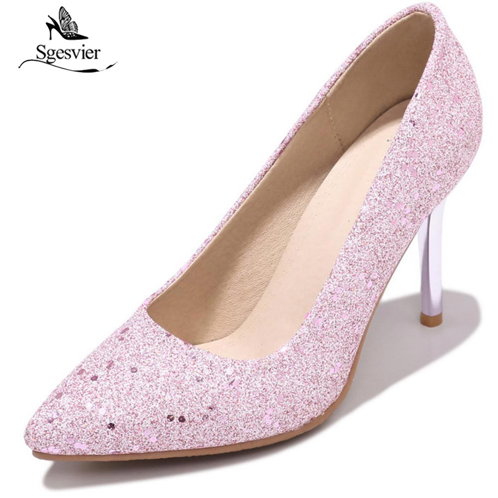 8b7705d9e01f SGESVIER-2018-Spring-Summer-Pumps-Shoes-Woman -Slip-On-Thin-High-Heel-Pumps-Pointed-Toe-Pink.jpg