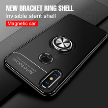 Luxury Magnetic Bracket Ring Case For Xiaomi mi 8 SE A1 A2 TPU Phone Cover For Xiaomi mi8 A2 A1 Soft Silicone Shockproof Case все цены