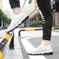 ONEMIX 2018 off white sports shoes men sneakers air cushion shoes running sneakers fitness mens shoes max big size 36 47
