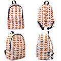 Boys Girls schoolbag Emoji Print Funny Kids Child Backpack mochila children school bag