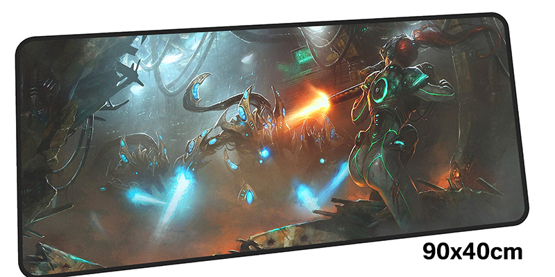 Protoss mousepad gamer 900x400X3MM gaming mouse pad large Christmas gifts notebook pc accessories laptop padmouse ergonomic mat