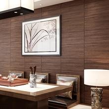 цена на Chinese style vintage wood grain background wallpaper ceiling straw braid japanese style tatami wallpaper